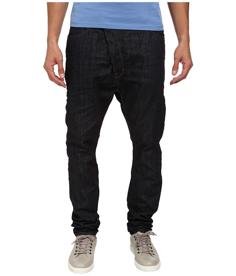 Vivienne Westwood MAN - Anglomania Lee Asymmetric Jean in Basic Wash (Basic Wash) Men's Jeans