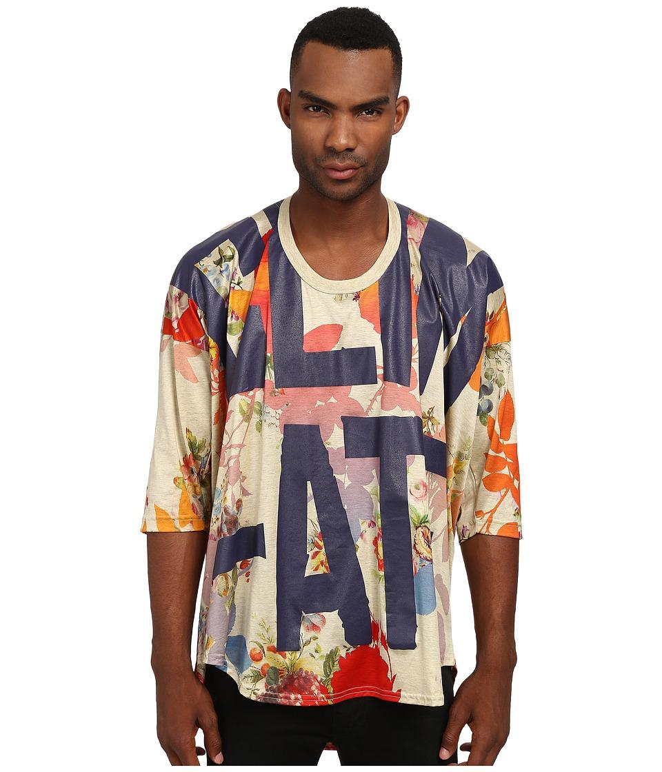 Vivienne Westwood MAN - Floral Oversize T-Shirt (Multi) T Shirt