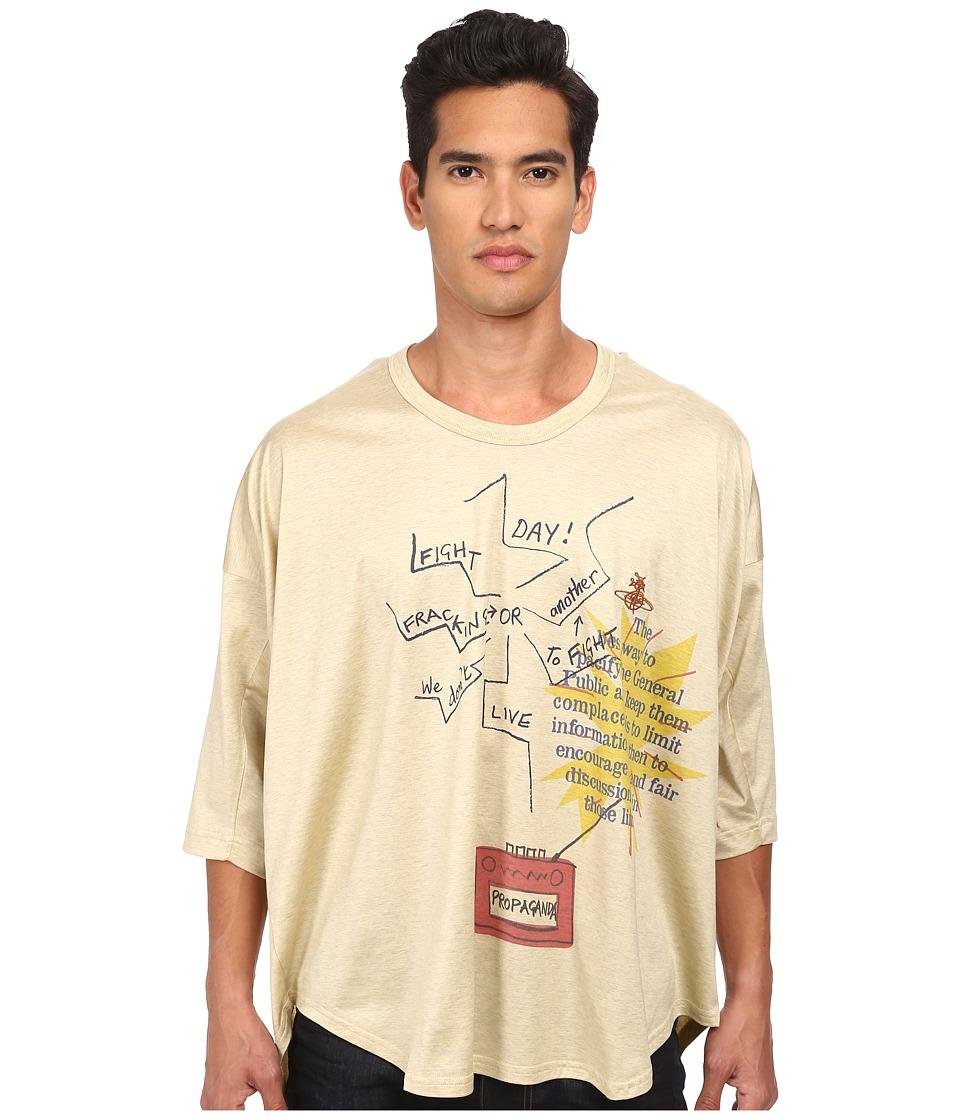 Vivienne Westwood MAN - Fracking Oversize T-Shirt (Oatmeal) T Shirt