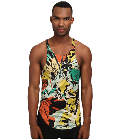 Vivienne Westwood MAN - Butterfly Tank (Multi) Sleeveless
