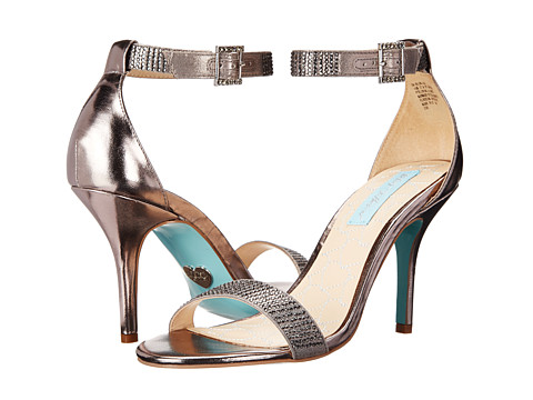 Blue by Betsey Johnson - Bling (Pewter Metallic) High Heels