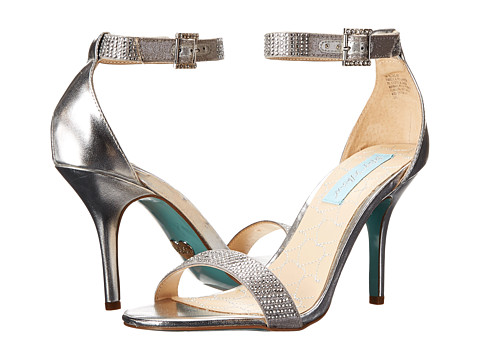 Blue by Betsey Johnson - Bling (Silver Metallic) High Heels