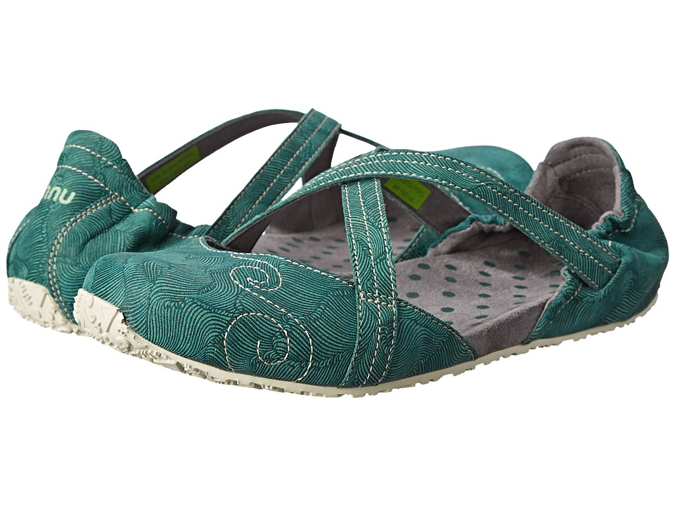 Ahnu - Good Karma (Posey Green) Women's Shoes