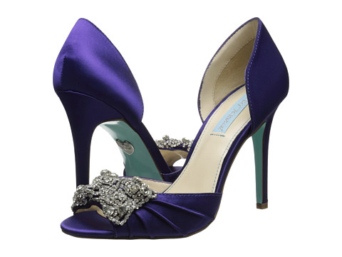 Blue by Betsey Johnson - Gown (Purple) High Heels