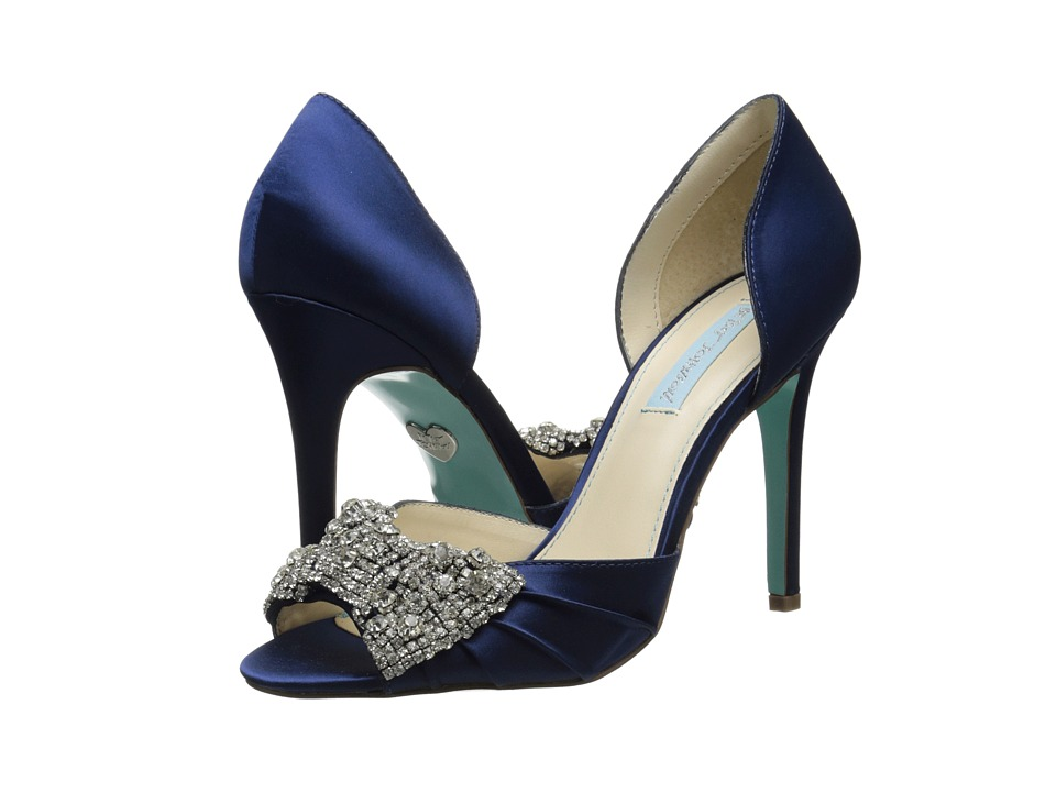 Blue by Betsey Johnson - Gown (Navy) High Heels