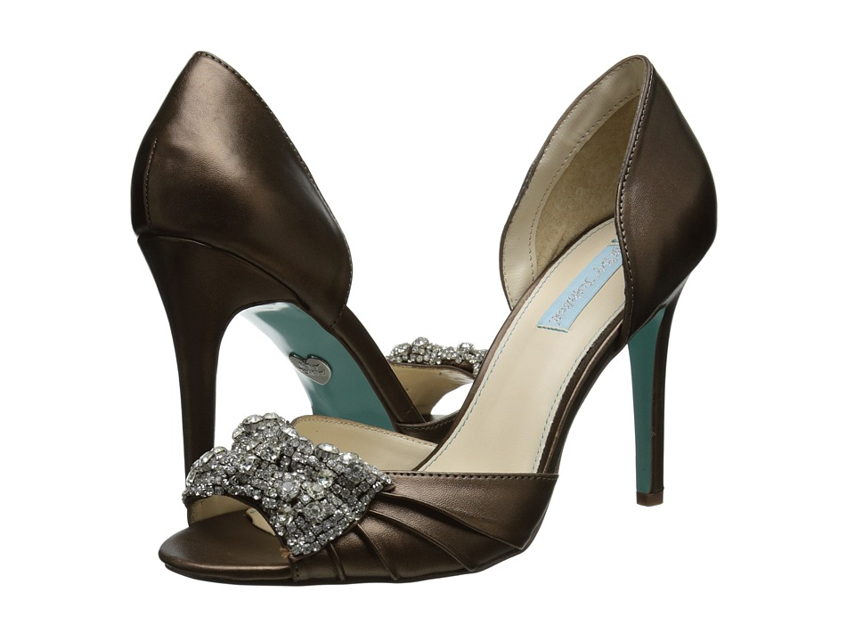 Blue by Betsey Johnson - Gown (Bronze) High Heels