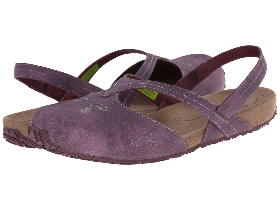 Ahnu - Shoka (Eggplant) Women's Slip on Shoes
