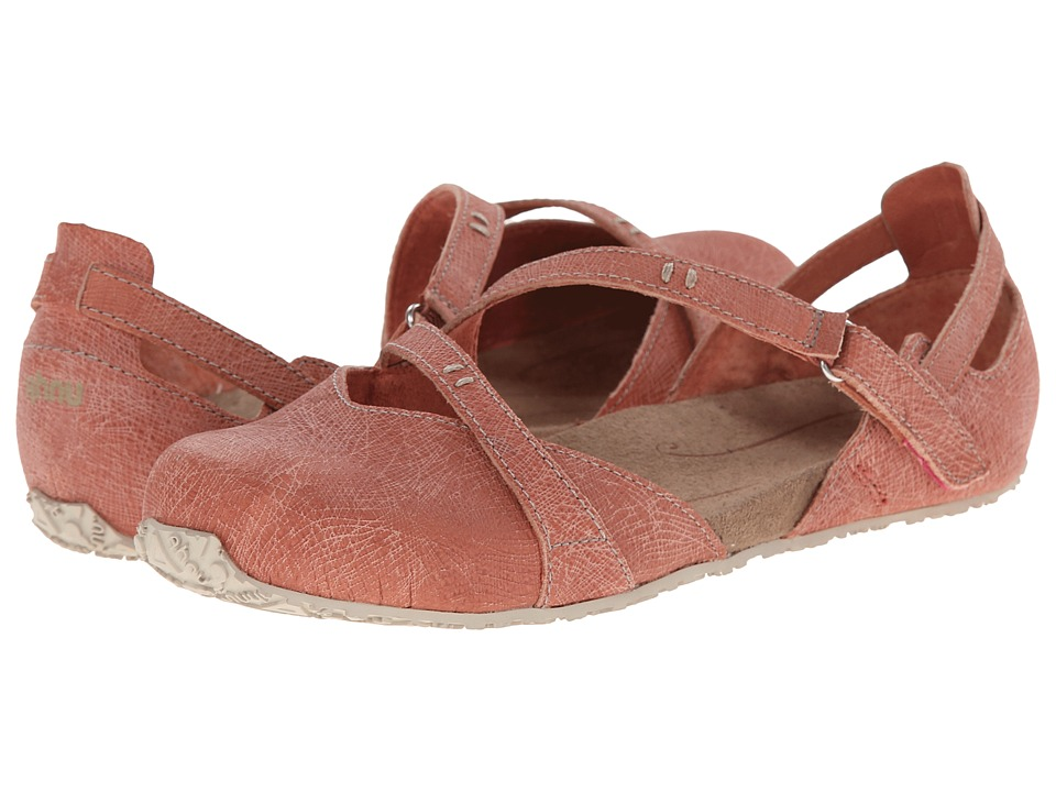 Ahnu - Tullia (Brick Dust) Women's Slip on Shoes