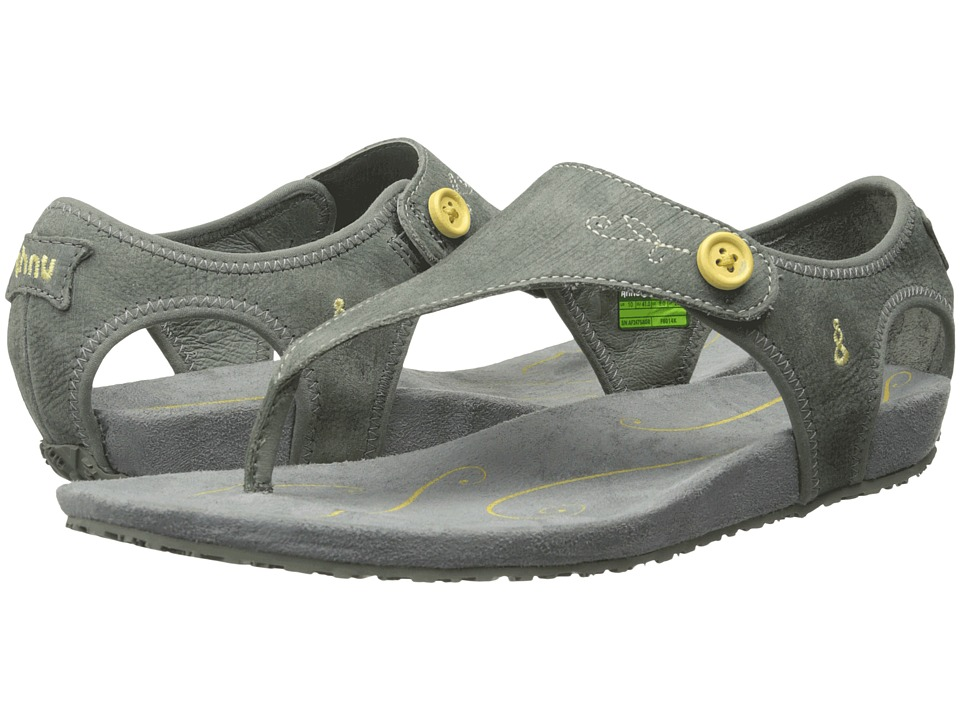 Ahnu - Serena (Agave Green) Women's Toe Open Shoes