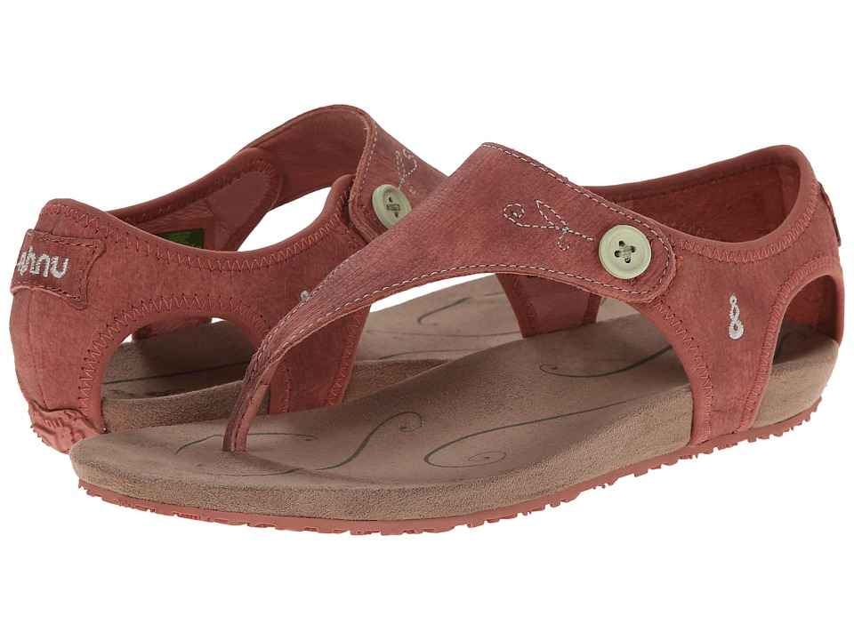 Ahnu - Serena (Brick Dust) Women's Toe Open Shoes
