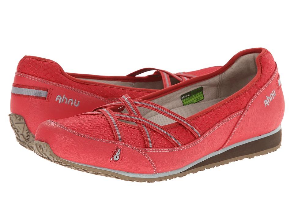 Ahnu - Crissy II (Cranberry) Women's Slip on Shoes