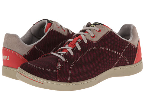 Ahnu - Noe Leather (Cranberry) Women's Lace up casual Shoes