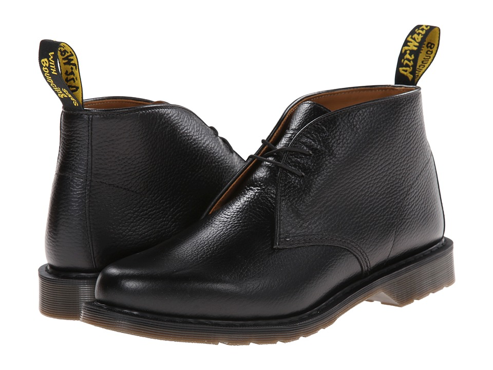 Dr. Martens - Sawyer Desert Boot (Black New Nova) Men's Lace-up Boots