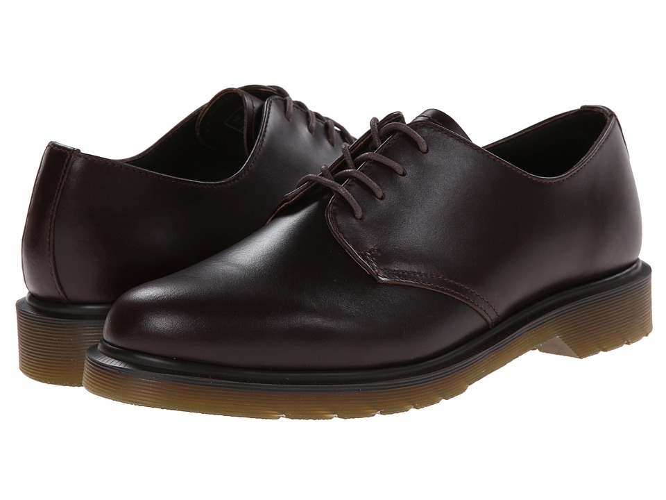 Dr. Martens - 1561 4-Eye (Dark Brown Analine) Men