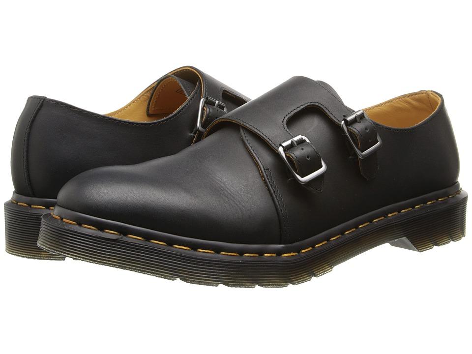 Dr. Martens Jules Double Monk Strap (Black Aged Greasy) Monkstrap Shoes