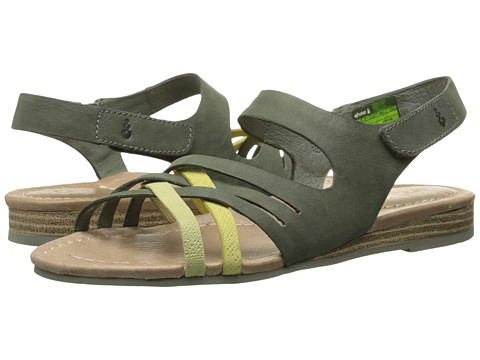 Ahnu - Saratoga (Agave Green) Women's Sandals