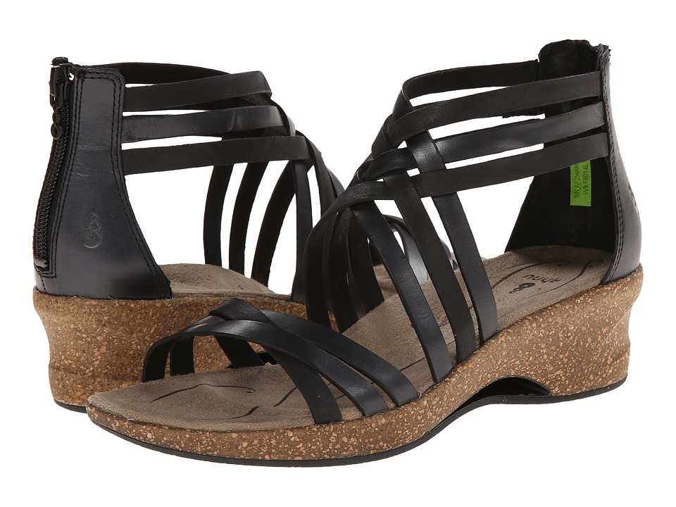 Ahnu - Trolley (Black) Women's Dress Sandals