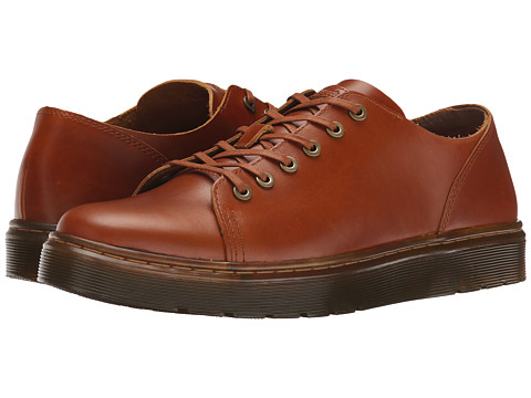 Dr. Martens - Dante 6-Eye Raw (Oak Analine) Men's Lace up casual Shoes