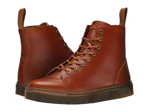 Dr. Martens - Talib 8-Eye Raw Boot (Oak Analine) Men