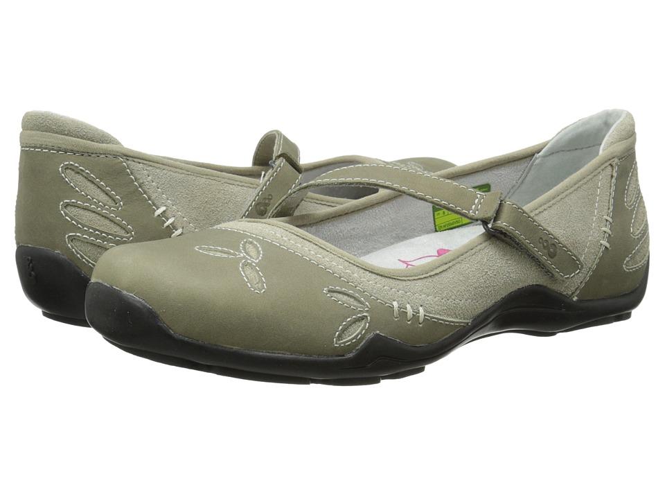 Ahnu - Gracie Pro (Silver Sage) Women's Slip on Shoes