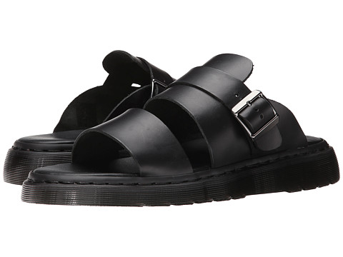 Dr. Martens - Brelade Buckle Slide (Black Brando) Men
