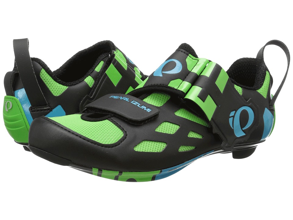 Pearl Izumi - Tri Fly V Carbon (Green Flash 15) Men's Cycling Shoes