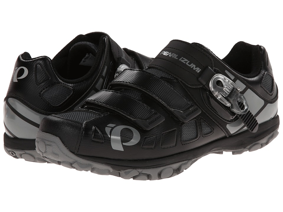 Pearl Izumi - X-Alp Enduro IV (Black/Shadow Grey) Men's Cycling Shoes