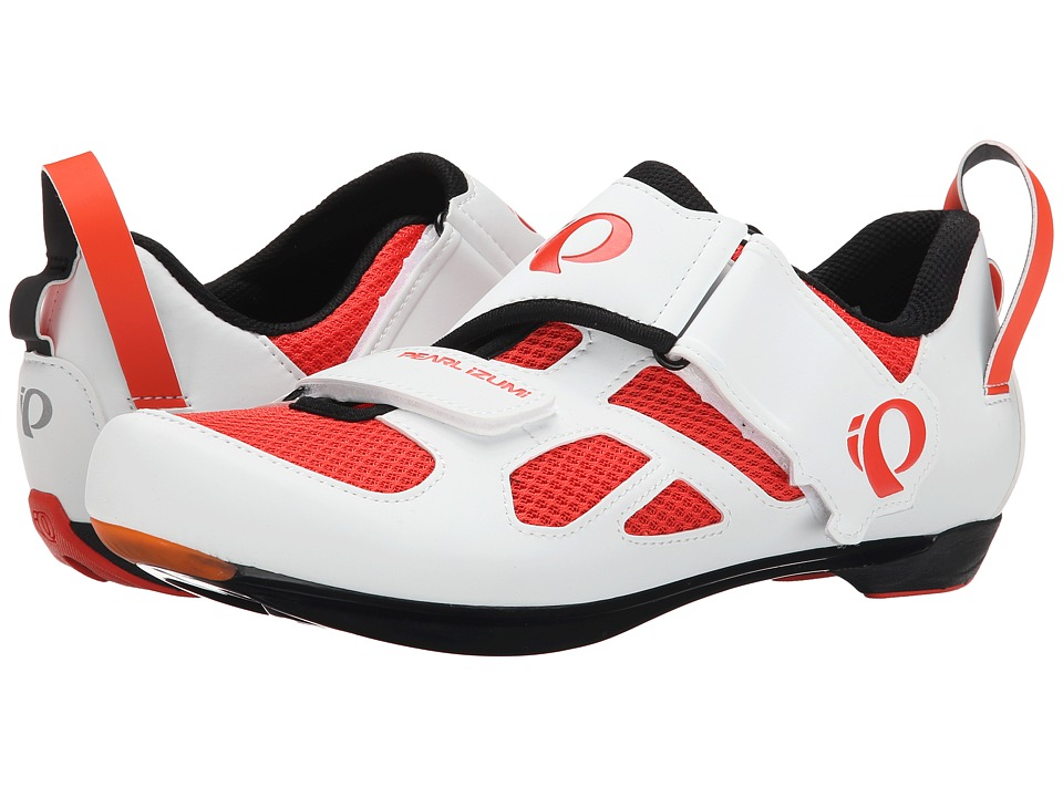 Pearl Izumi - Tri Fly V (Mandarin Red) Men's Cycling Shoes
