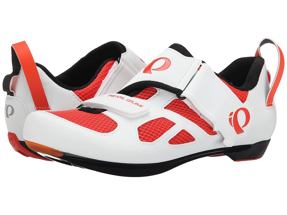 Pearl Izumi - Tri Fly V (Mandarin Red) Men's Cycling Shoes