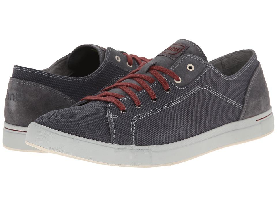 Ahnu - Stockton Leather (Dark Gray) Men