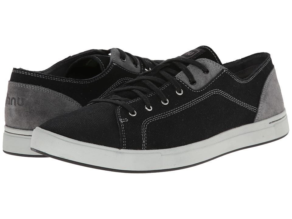 Ahnu - Stockton Leather (Black) Men