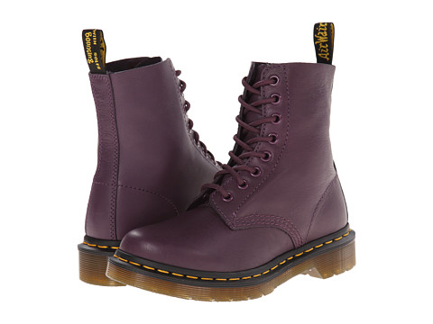 Dr. Martens - Pascal 8-Eye Boot (Purple Virginia) Lace-up Boots
