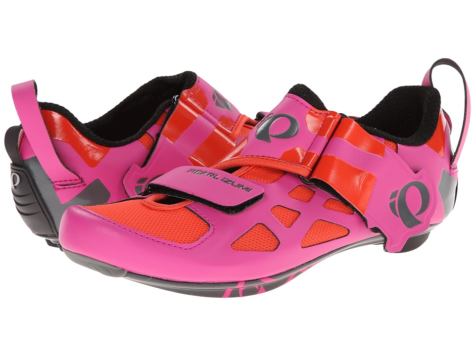 Pearl Izumi - W Tri Fly V Carbon (Hot Pink/Black) Women's Cycling Shoes