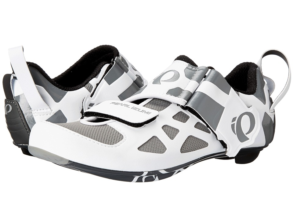 Pearl Izumi - W Tri Fly V Carbon (White/Black) Women's Cycling Shoes