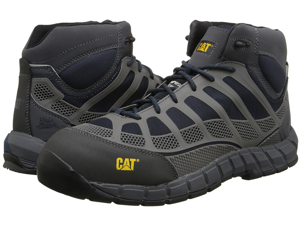 Caterpillar - Streamline Mid CT (Midnight) Men's Work Lace-up Boots