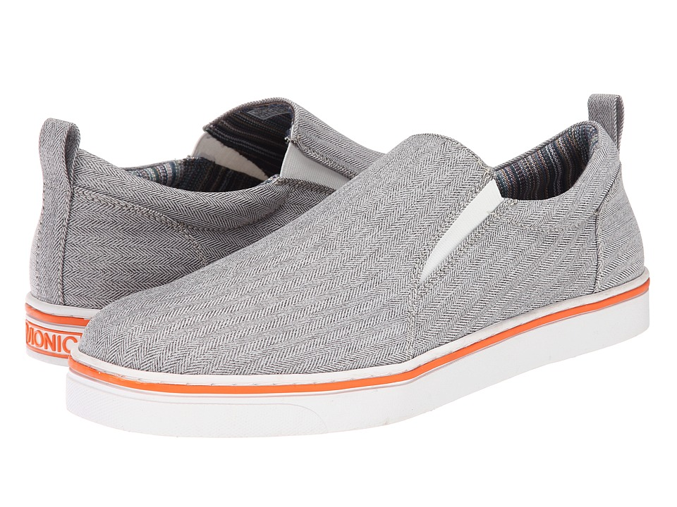 VIONIC - Conner (Light Grey) Men's Slip on Shoes
