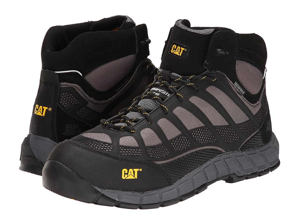 Caterpillar - Streamline Mid WP CT (Black/Shadow) Men's Work Boots