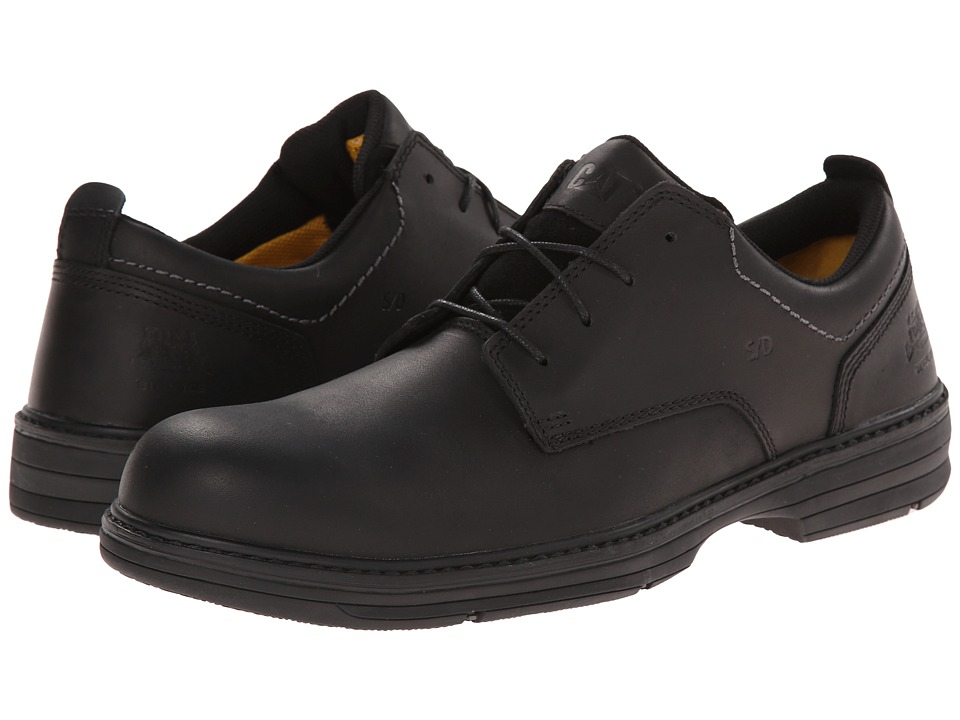 Caterpillar - Inherit Steel Toe (Black) Men's Industrial Shoes