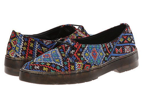 Dr. Martens - Morada 1-Eye (Multi Aztec Weave) Women's Lace up casual Shoes