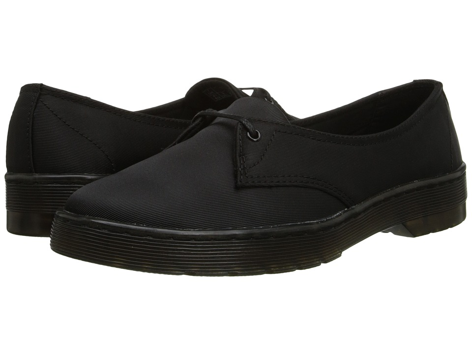 Dr. Martens - Morada 1-Eye (Black Satin) Women