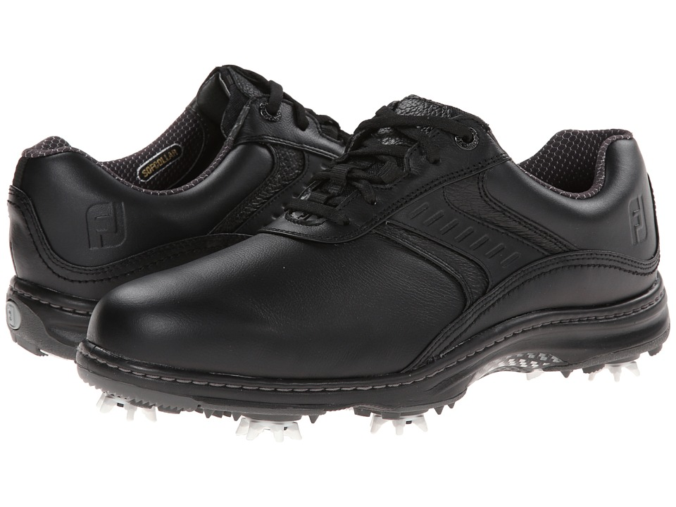 FootJoy - Contour Series (Black) Men's Golf Shoes