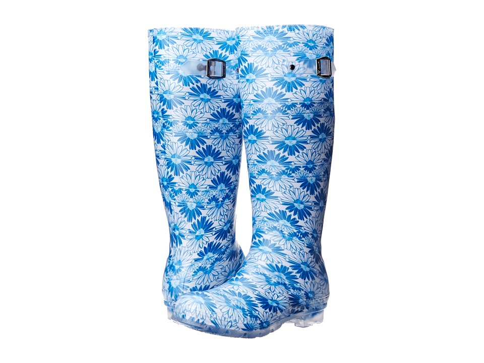 Kamik - Daisies (Blue) Women's Rain Boots