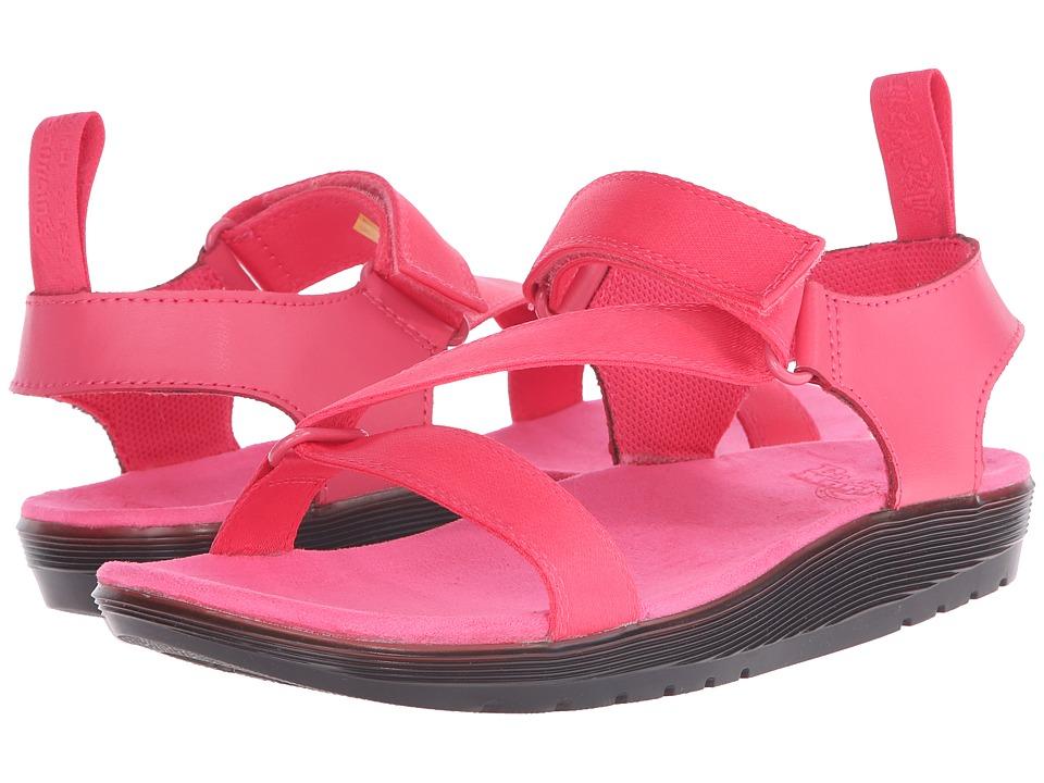 Dr. Martens - Balfour Z-Strap Sandal (Neon Pink/Neon Pink/Webbing/Ecotec) Women's Sandals