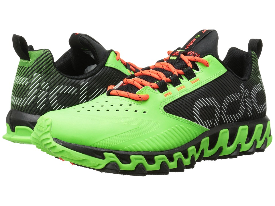 adidas Running - Vigor 5 (Black/Solar Green/Solar Red) Men's Running Shoes