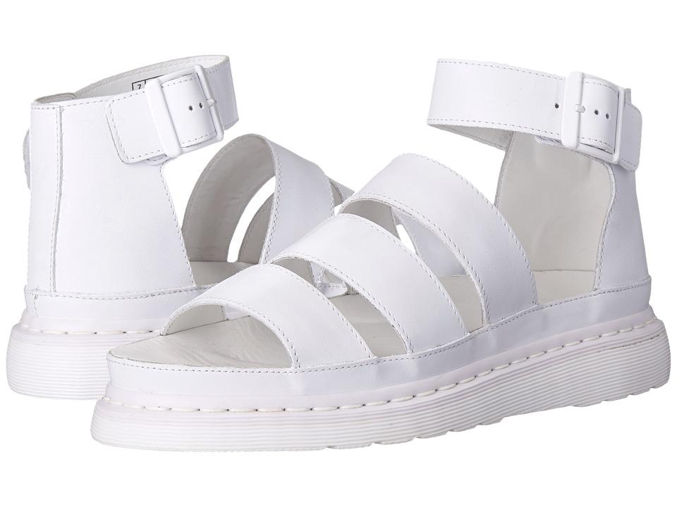Dr. Martens - Clarissa Chunky Strap Sandal (White Softy T) Women