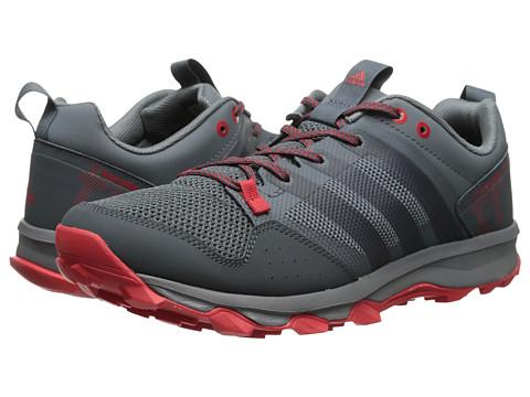 adidas Running - Kanadia TR 7 (Onix/Bold Onix/Scarlet) Men