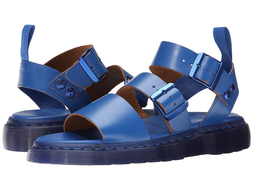 Dr. Martens - Gryphon Strap Sandal (Blue Vintage Smooth) Women's Sandals
