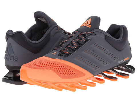 adidas Running - Springblade Split W (Flash Orange/Onix/Silver Metallic) Women
