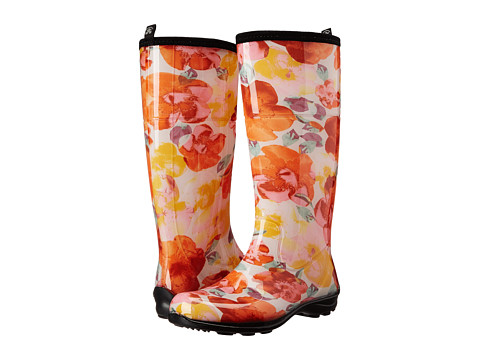 Kamik - Poppies (Orange) Women's Rain Boots