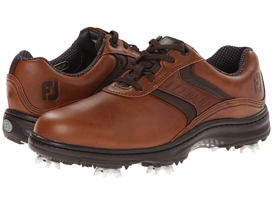 FootJoy - Contour Series (Dark Brown) Men's Golf Shoes